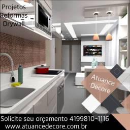 Drywall em Curitiba / Elétrica