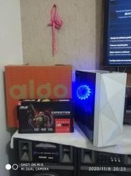 PC gamer i5 da 7° e RX570 de 4GB e SSD 240gb
