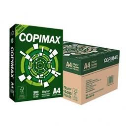 Papel Copimax A4 Branco Caixa C/ 10 Pacotes 500 Folhas Cada