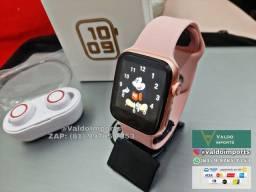 Kit Relógio Smart IWO + Fone Bluetooth Y50 (NOVOS)