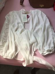 Blusa nova com ediqueta