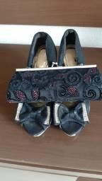 Sapato Social número 95 + Bolsa