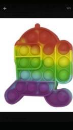 Título do anúncio: Pop it fidget toys sensorial among us