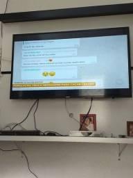 Vende se TV smart  43 polegada  9 meses de uso 2 anos de garantia  sem nenhum problema