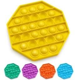 Título do anúncio: Pop It Fidget Brinquedo Anti Stress Sensorial Bolha Bubble