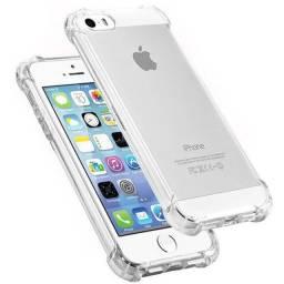 Capinha iPhone Anti Impacto Transparente 6s,7,8,Se ,7plus,8Plus,11 ,11 Pro, XS e XR.