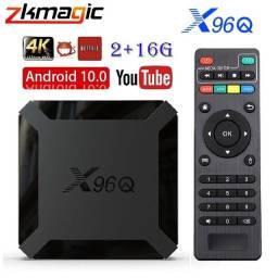 Tv Box X96Q 16GB Entregas e Instalação Grátis
