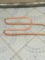 Título do anúncio:  Serpentina em cobre para fogão a lenha, churrasqueira' 3/4