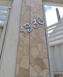 Numeros p/casas em aluminio batido. 8 reais  cada , já instalado.