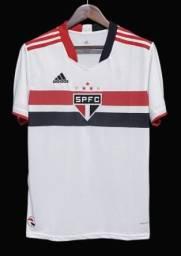 Camisa São Paulo  21/22 s/n° Torcedor Adidas Masculina