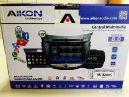 Título do anúncio: Central multimídia universal AIKON AK8200S Android 6.0 (NOVO/LACRADO)