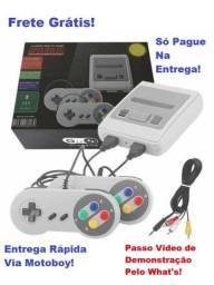 Vídeo Game (Nitendinho Mini Sfc) com 620 Jogos - Frete Grátis!