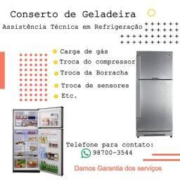 Assistência Técnica em Refrigeração