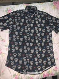 camisa de botao