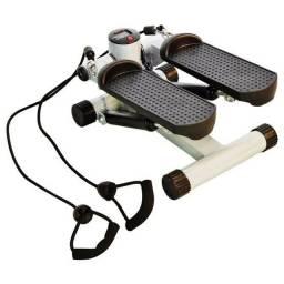 Título do anúncio: Mini Stepper 3 Em 1 Com Corda Simulador De Caminhada Cinza<br><br><br>