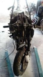 Sucata de moto para retirada de peças CBR 600rr 2007