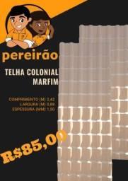 Título do anúncio: Telha colonial pvc