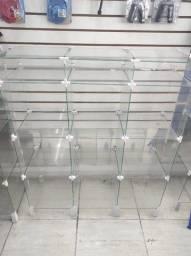 Vitrine de vidro para loja