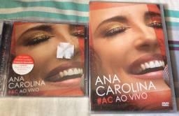CD e DVD Ana Carolina - #AC ao vivo