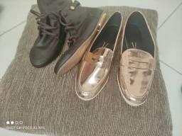 Sapatos 39 semi novos desapego