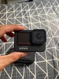 Título do anúncio: GoPro Hero9 + Action Kit + 2 baterias