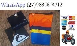 Kit Bermuda Elastano e Camisa Top