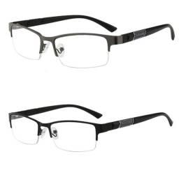 Armação para óculos unissex - Preto e grafite