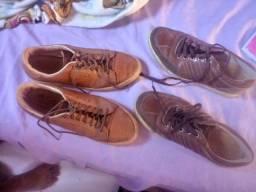 Sapatos em couros original
