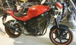Sucata de moto para retirada de peças Kasinski Comet 250 2008