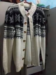 Título do anúncio: Casaco de tricô