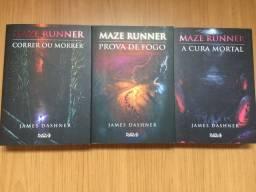 livros da série MAZE RUNNER