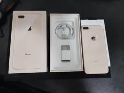 Apple Iphone 8 plus 64GB Rosê sem marcas completo