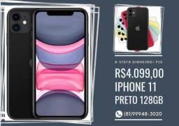 Iphone 11 128gb, Preto.