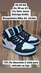 Título do anúncio: Basqueteira Nike Air Jordan