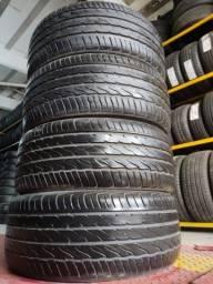 4 pneus 225/35 R20 semi novos zerados!!(2.000$ até 10x sem juros no cartão)