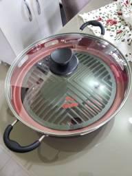 Grill churrasqueira oriental Guassu para fogão