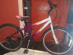 Bicicleta Caloi aro 24 tamanho médio