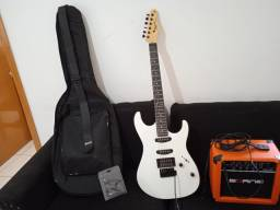 Kit guitarra 1 mês de uso