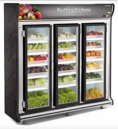 Expositor Auto serviço Para Frutas e verduras 3 portas *