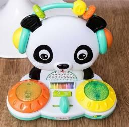 Brinquedo Interativo DJ Panda da Infantino