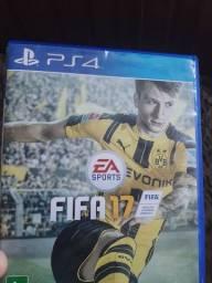 Vendo jogo fifa 17 playstation 4