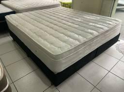 Título do anúncio: cama king size LÁTEX 1.80 X 2.00 - ENTREGAMOS