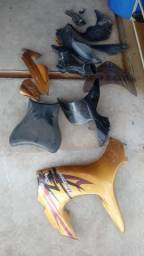 Sucata de moto para retirada de peças Hayabusa  1300 2011