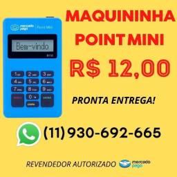 Título do anúncio: Maquininha de cartão Point Mini do Mercado Pago