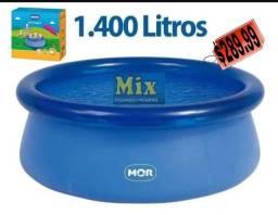 Título do anúncio: Piscina inflável Mor 1400L