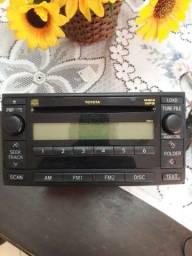 Título do anúncio: Radio cd play original hilux
