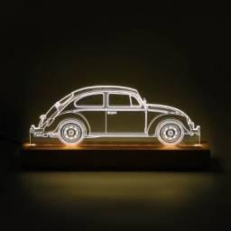 Luminária de acrilico criativa 3D