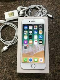 IPhone 8 64gb Silver com garantia (aceito cartão)