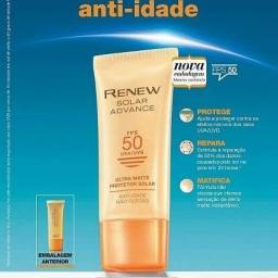 Protetor Solar Facial Ultra Matte Renew Advance Fps 50 Avon