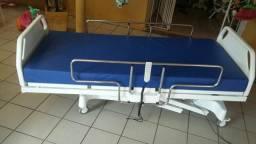 ICama hospitalar eletronica luxo 8 pos,com ajuste de altura no leito